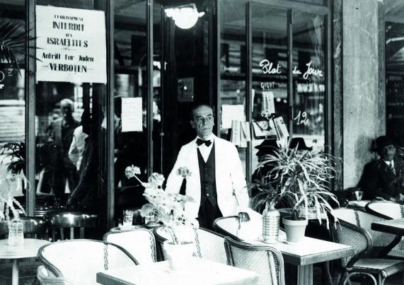 « Établissement interdit aux Israélites » – 1940-1944. © Droits réservés – CEGESOMA, Bruxelles, 273923