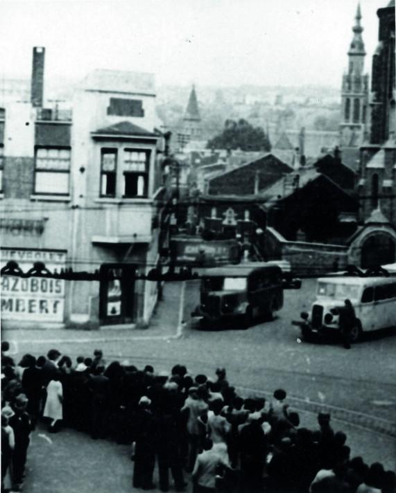 Arrestations effectuées par les Allemands à Verviers (29/05/1943) – © Droits réservés – CEGESOMA, Bruxelles, 28428
