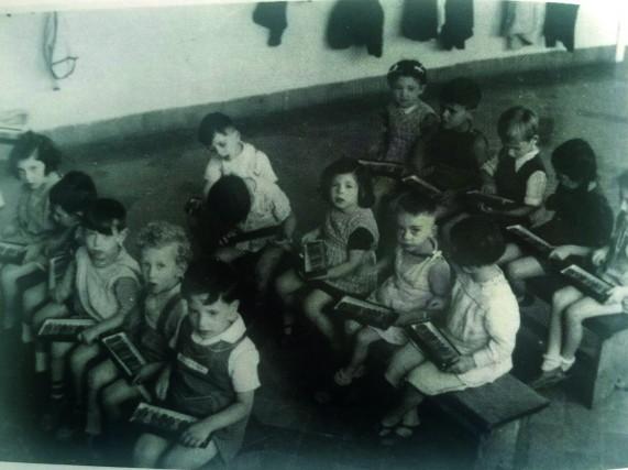 L'école Nos Petits à Bruxelles, créée pour accueillir les enfants juifs exclus de l'enseignement en Belgique © FMC/SEH
