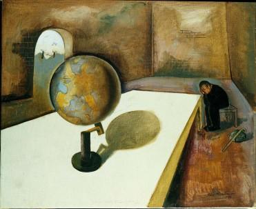 Félix Nussbaum (1904-1944), Le réfugié (1) (European Version), 1939 – Oil on canvas, 60 x 74 cm – © Felix – Nussbaum-Haus Osnabrück